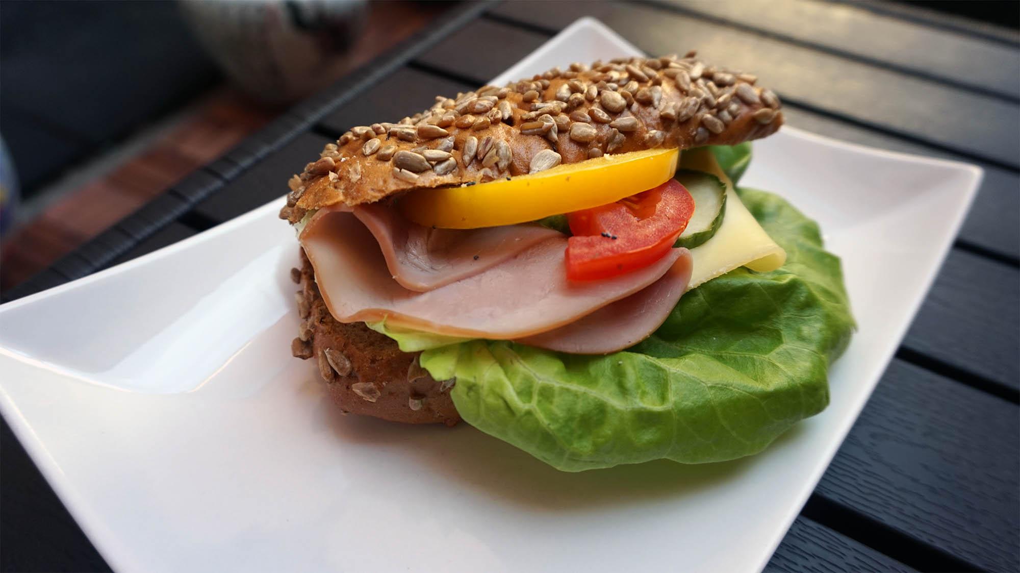 Ost & skinka smörgås