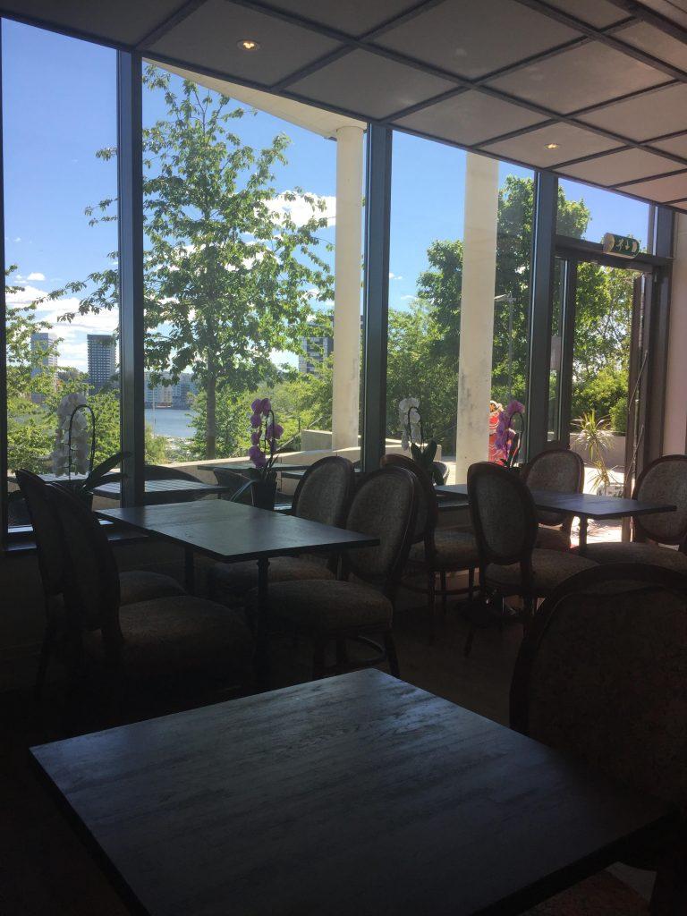 sjöutsikt cafe giffi